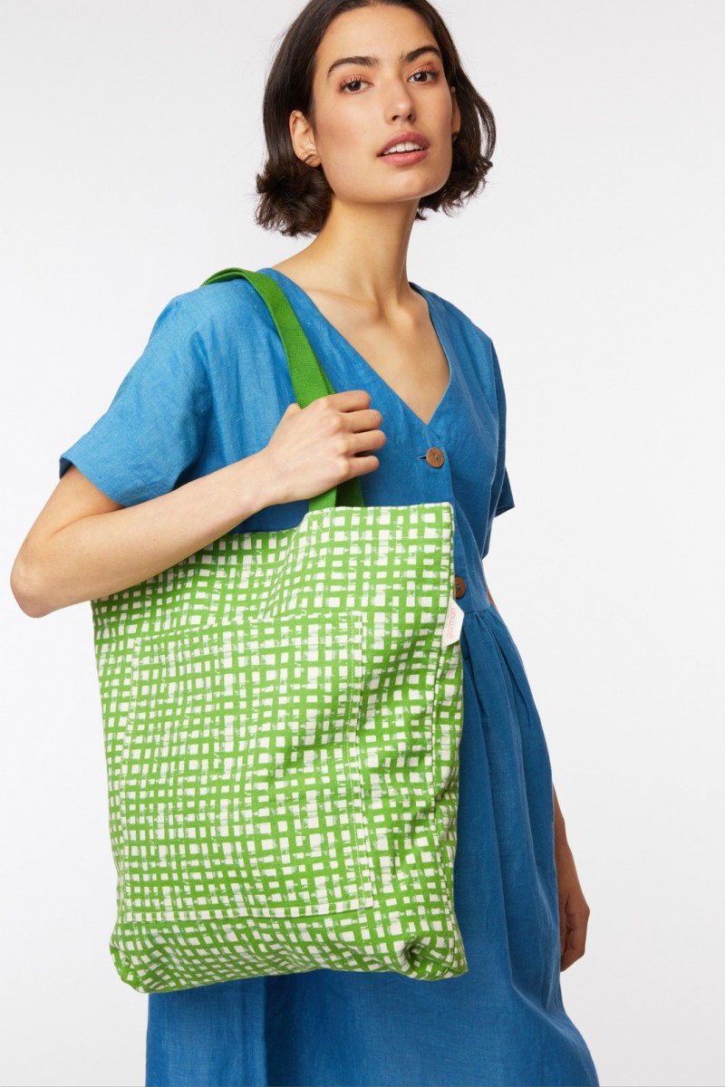 Safety Net Canvas Tote