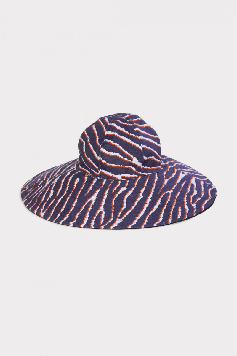 Zebra Floppy Hat