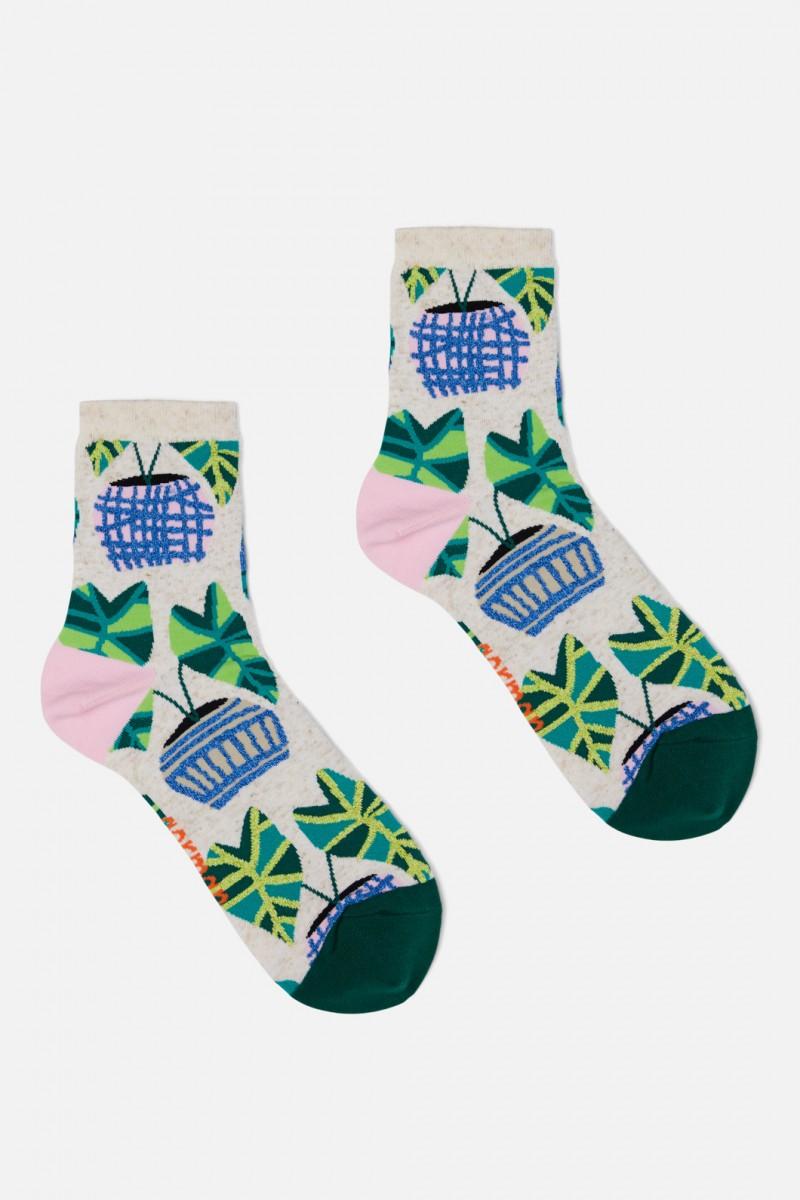 Green Gallery Sock