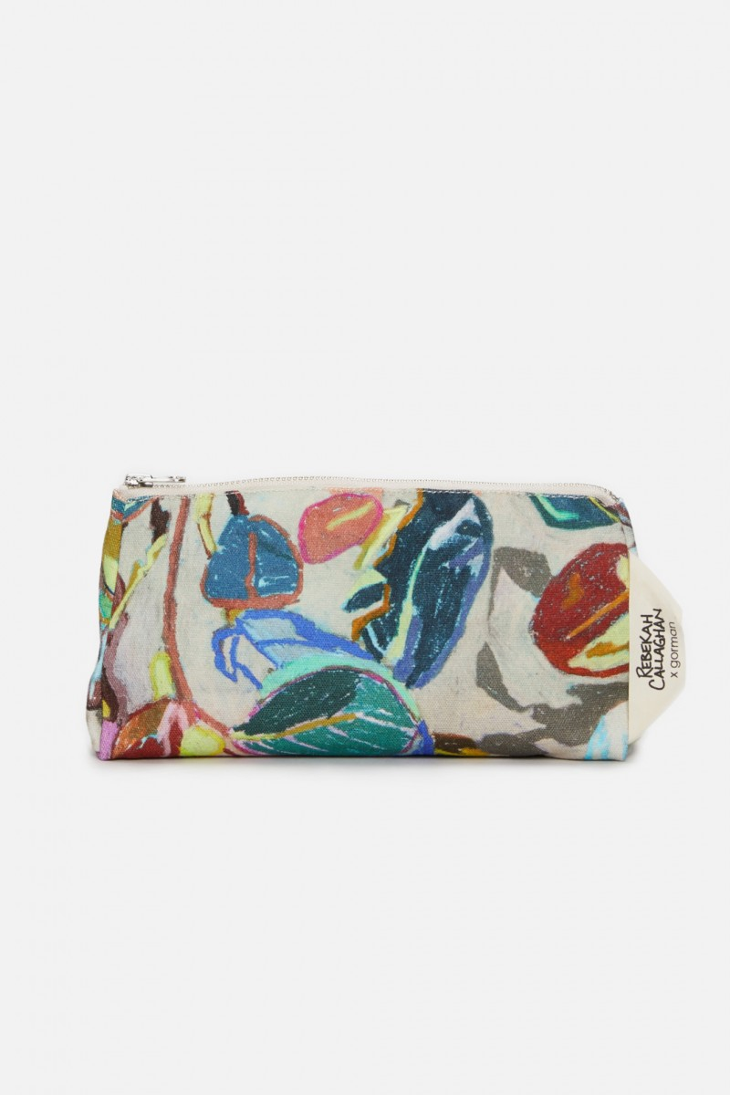 Crayon Garden Makeup Bag