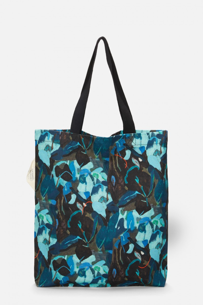 Silver Lining Canvas Tote