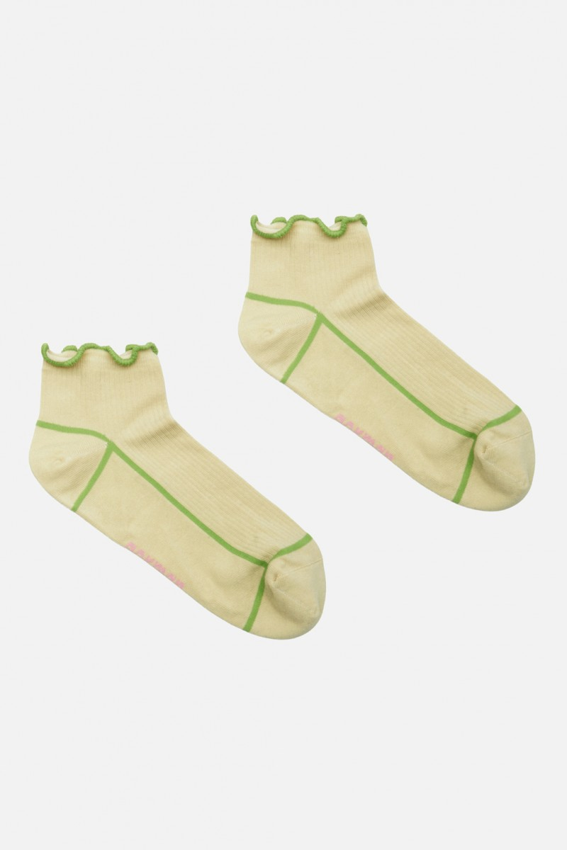 Lettuce Ankle Socks