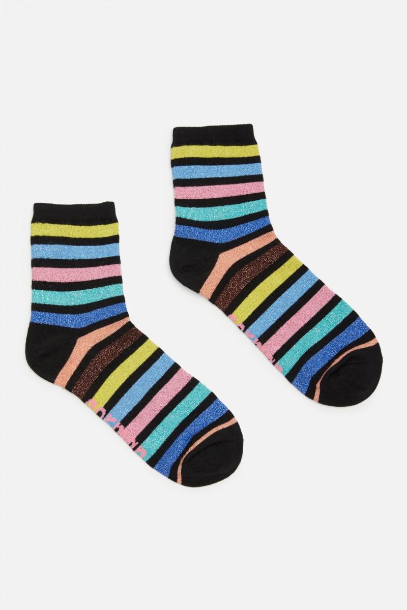 Stripe City Sock