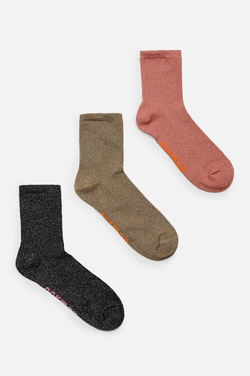 Sparkle Rib Sock Pack