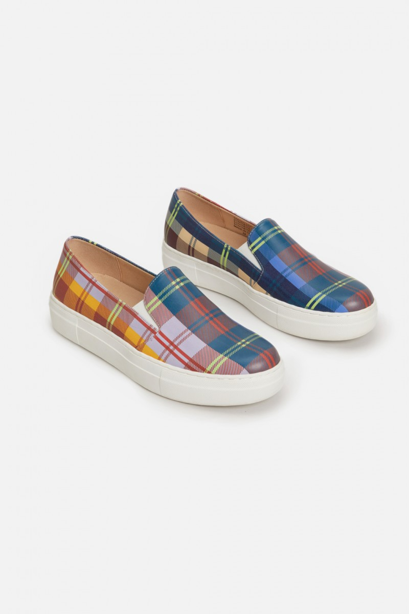 Tartan Trip Sneaker
