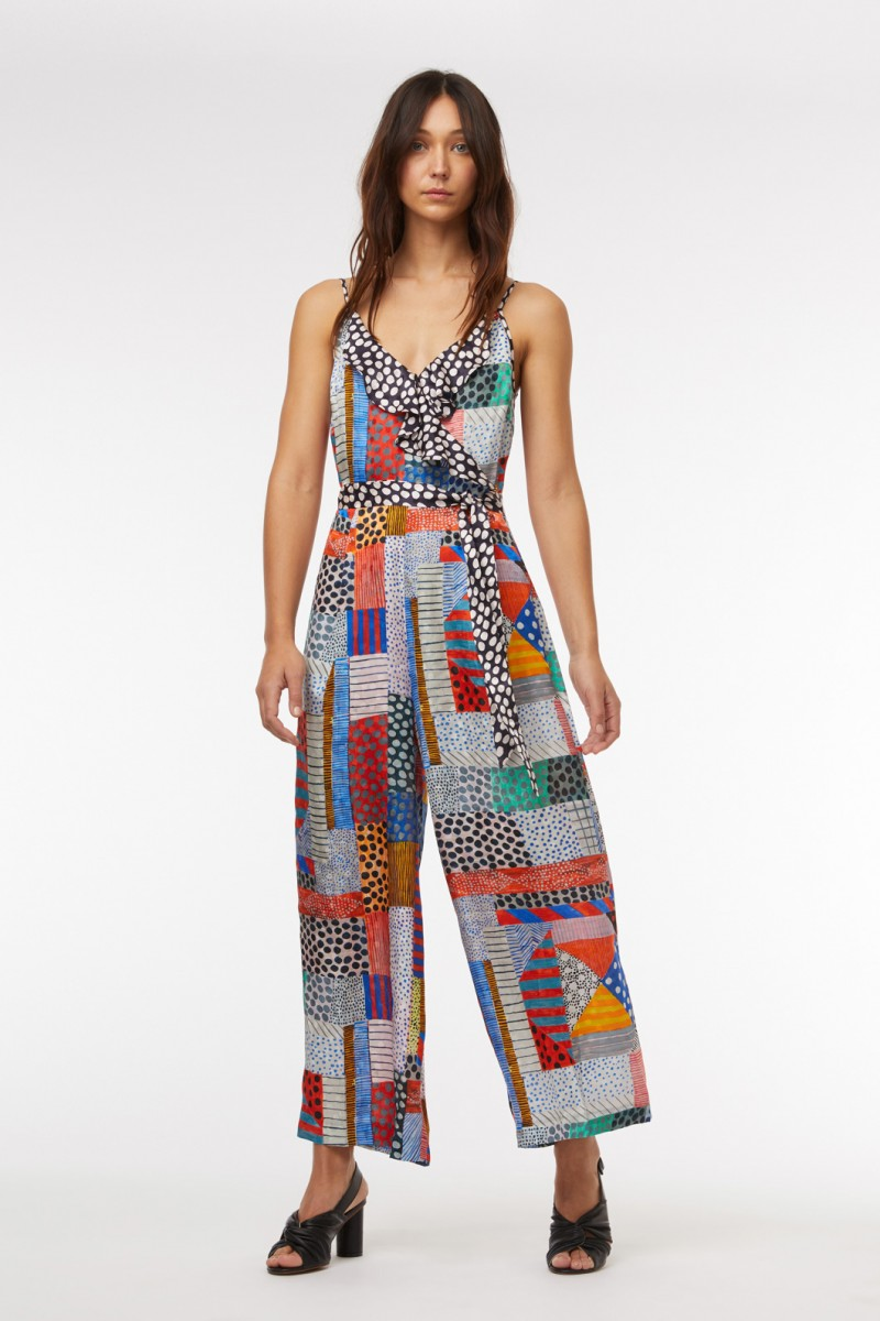 Meshed Pantsuit