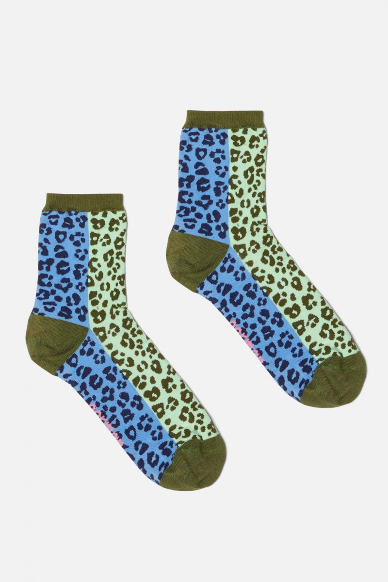 Lil Leopard Sock