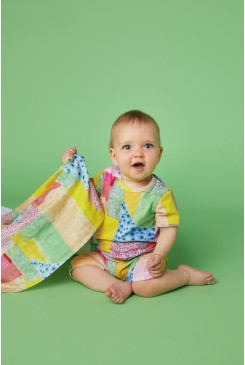 Patch Cotton Baby Wrap