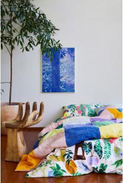 Green Gallery Bedding Queen Bed