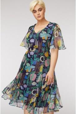 Leafy Library Dress