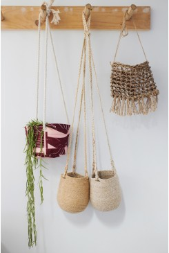 Puzzle Small Hanging Planter