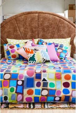 Circle Square Bedding Set Double