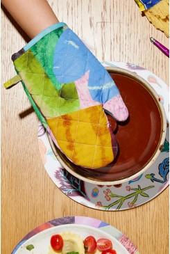 Colour Drop Oven Mitt
