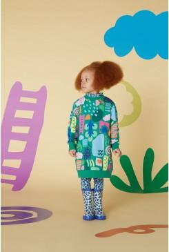 Landscape Sweater Dress