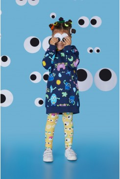 Little Monsters Sweater Dress