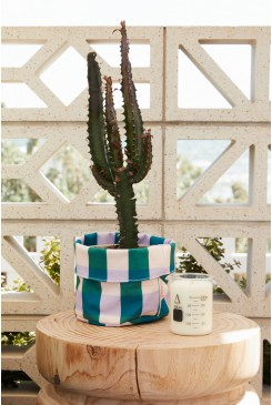 Get It Gingham Small Planter