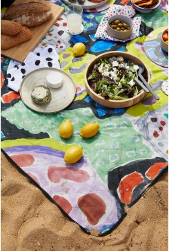 Moon River Small Picnic Rug