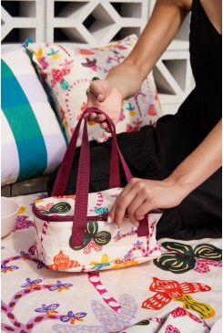 Orchid Friends Lunch Bag