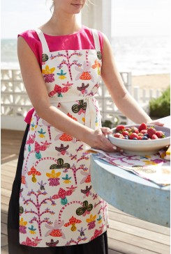 Orchid Friends Apron