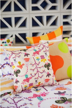 Orchid Friends Cushion