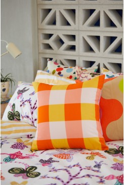 Get It Gingham Cushion