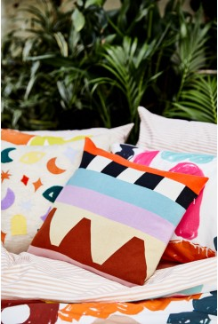 Show Us Your Stripes Cushion