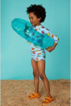Happy Sun Swim Top