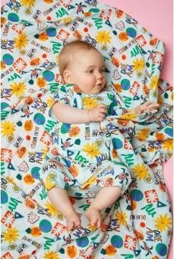 Dear World Baby Muslin Wrap