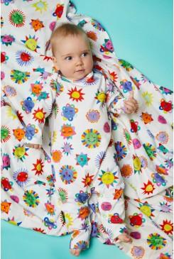 Happy Sun Baby Muslin Wrap