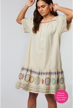 Waterhole Embroidered Dress