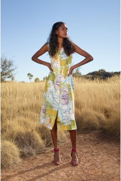 Fitzroy River Linen Dress