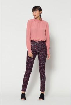 Leopard Cord Pants