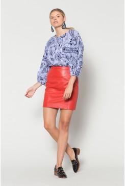 Paisley Shirting Top