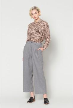 Grey Freckle Pant