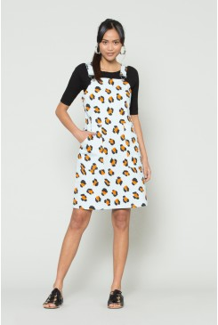 Leopardess Pinafore