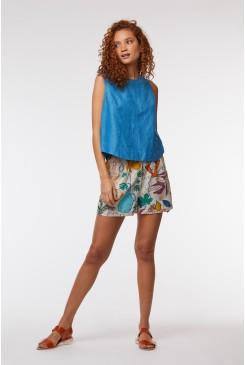 Athena Linen Short