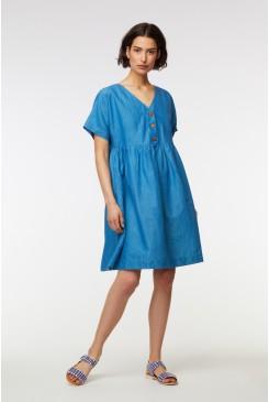 Corsica Linen Dress