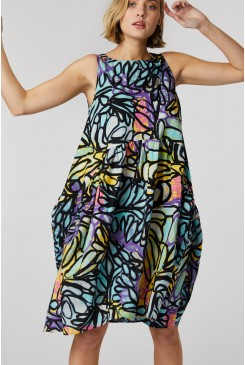 Palm And Pamarr Tulip Dress