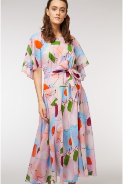 Uncover Upswing Scarf Dress
