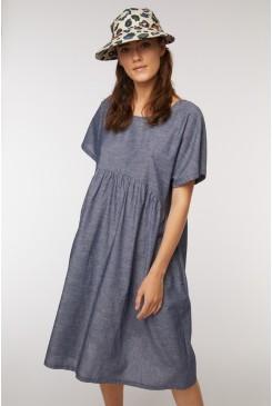 Trifecta Chambray Dress