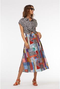 Meshed Skirt