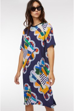 Kaleidoscope Tee Dress