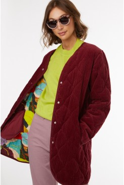 Broad Leaf Quilt Coat