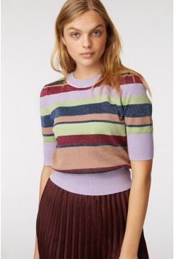 Rainbow Knit Top