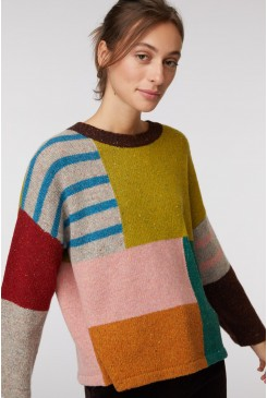 Block Fleck Jumper