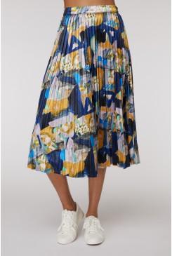 Mountain To Sea Pleat Skirt