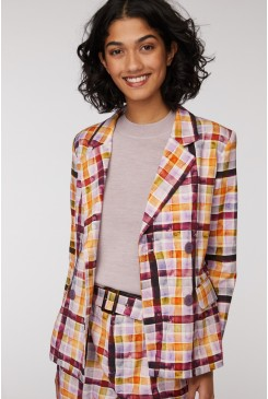 Plaid The Part Blazer