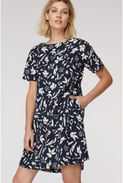 Wallflower Jersey Swing Dress