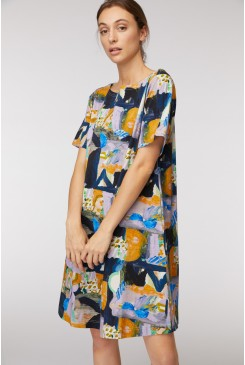 Mountain To Sea A Line Dress