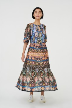Marrakesh Express Long Dress
